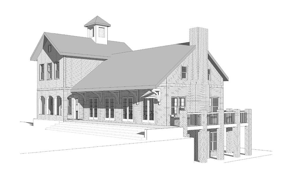 Common House 3D view