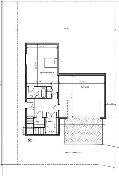 Lot 17 1st Floor plan