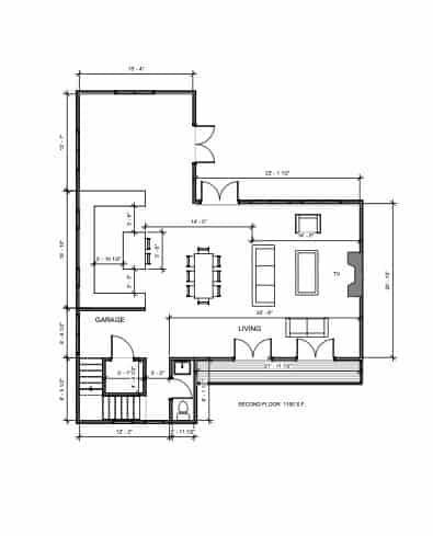 Lot 17 2nd Floor plan