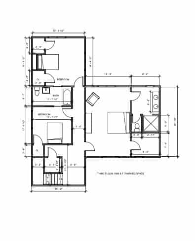 Lot 17 3rd Floor plan